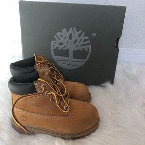 Toddler unisex Timberlands size 8